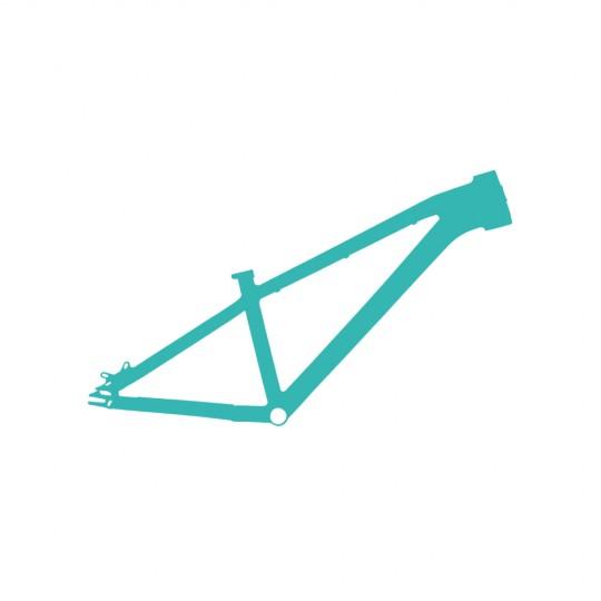 Repair of bicycle frames