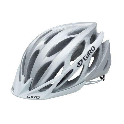 Kask Giro Athlon, biały/srebrny, L