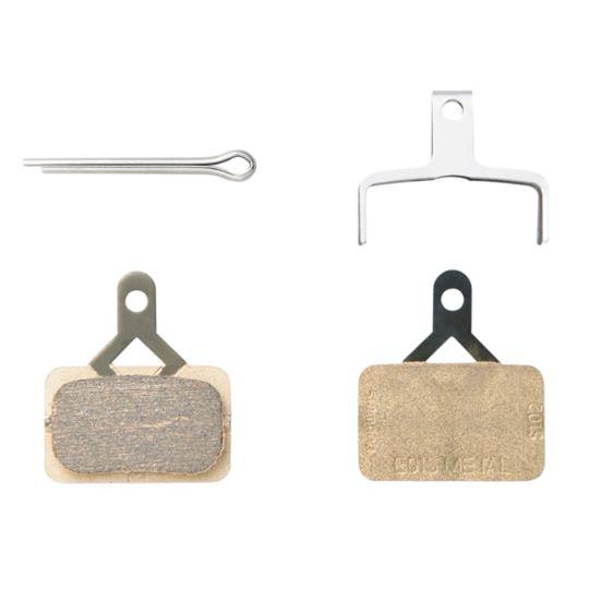 Klocki hamulca BRM 575/486/445 metal ze sprężyną