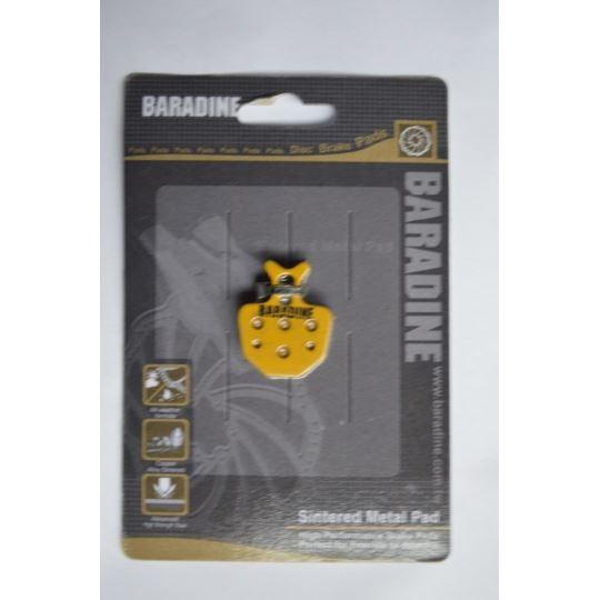 Klocki hamulca DS-31S+SP-31 metaliczne
