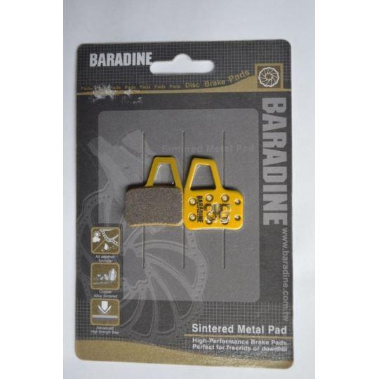 Klocki hamulca DS-37S metaliczne