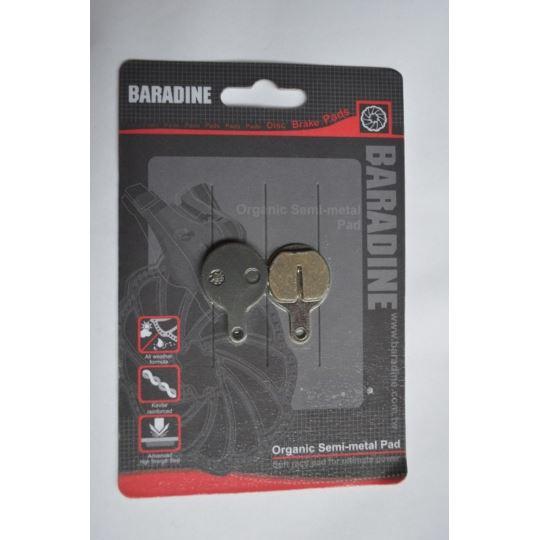 Klocki hamulca DS-46 półmetaliczne