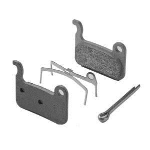 Klocki/okładzina ze spręż. M06Ti XTR metal tytan