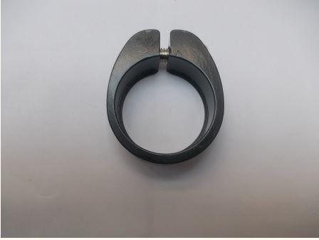 Obejma podsiodłowa 34,9mm imbus czarna