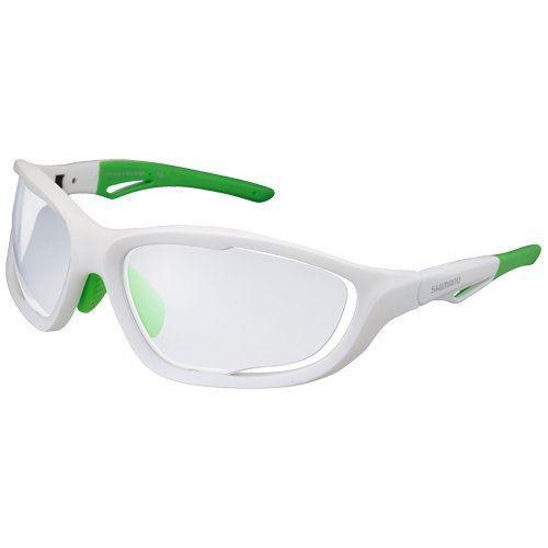 Okulary Shimano CE-S60X PH opraw białe szkła szare