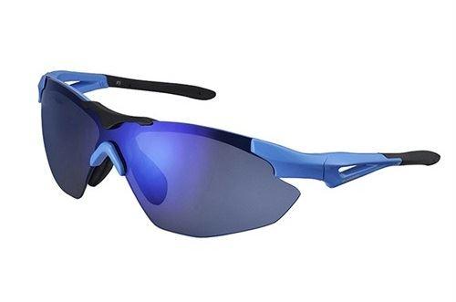 Okulary Shimano CE-S40R-L oprawki szkła niebieskie
