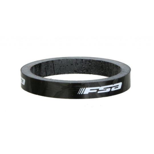 Podkładki FSA carbon 1 1/8 5mm black