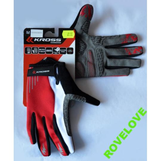 Rękawiczki rowerowe Kross Vulcan długie termiczne