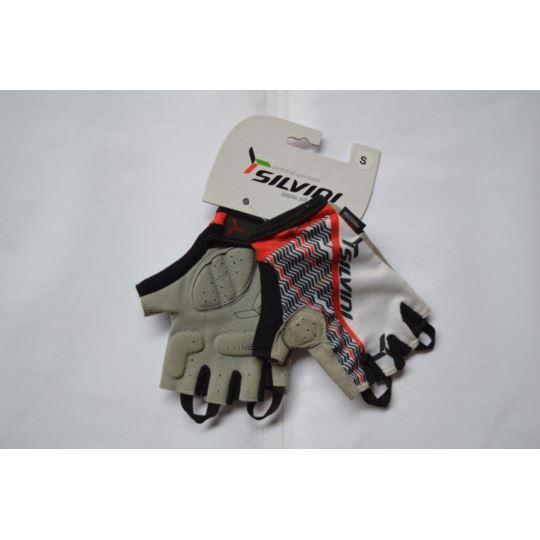 Rękawiczki Silvini Core czerwono-czarne S