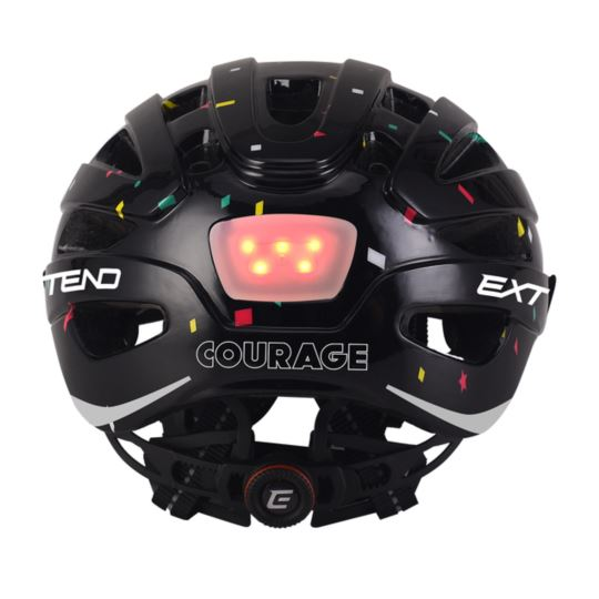 Kask EXTEND Courage black S/M (51-55cm)