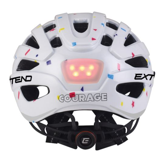 Kask EXTEND Courage white S/M (51-55cm)