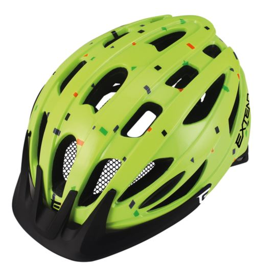Kask EXTEND Courage lime S/M (51-55cm)