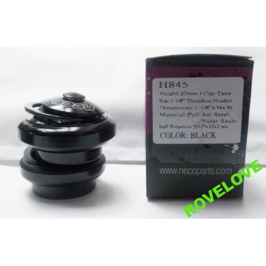 """Stery H845 stal NECO Box 1-1/8"""" czarne"""