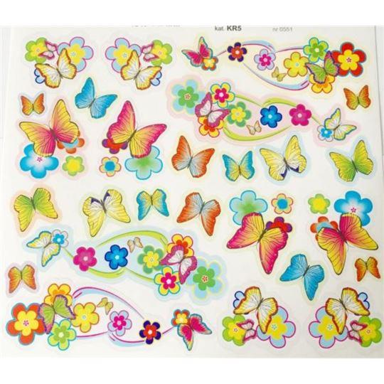 Naklejki dziecięce - Motyle
