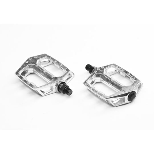 Pedały BMX aluminiowe srebrne 9/16