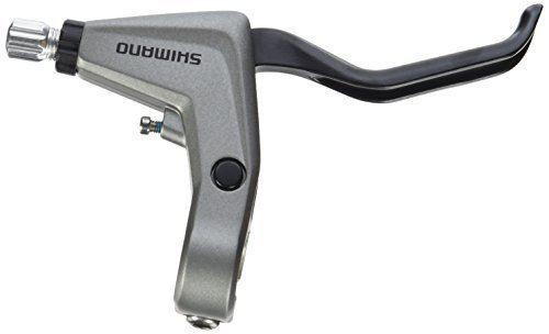 Dźwignia ham T4000 V-brake prawa 2 palce srebrna