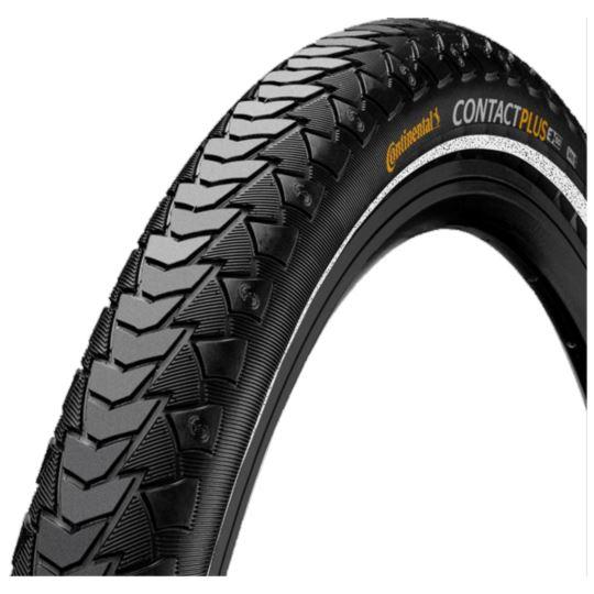 Opona Conti Contact Pl 28x1 3/8x1 5/8 czarna dr