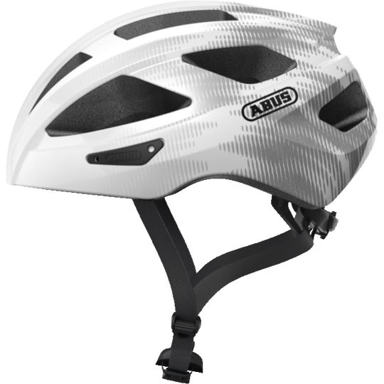 Kask Abus Macator white silver M