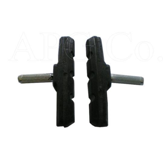 Klocki hamulca standard czarne imbus/bolec 150110