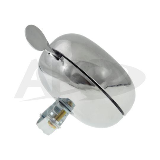 Dzwonek Ding-Dong 80mm srebrny